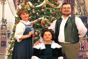 Рождество у купцов Кузнецовых