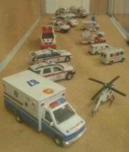 Модели машинок скорой помощи
