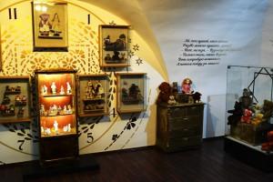 Музей Мой любимый Мишка, внутри