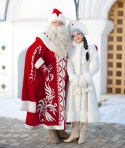 Дед Мороз и Cнегурочка от Smile group