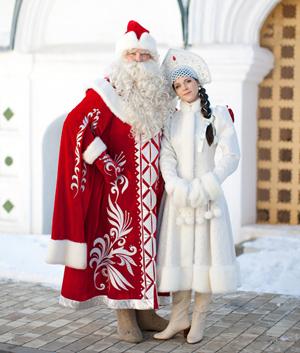 Дед Мороз и Снегурочка Smile Group