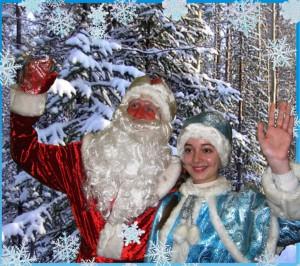 Дед Мороз и Снегурочка на дом, детский центр Ступеньки