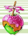 Apple Sweet, яблоки в карамели