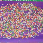 Разноцветные горошки