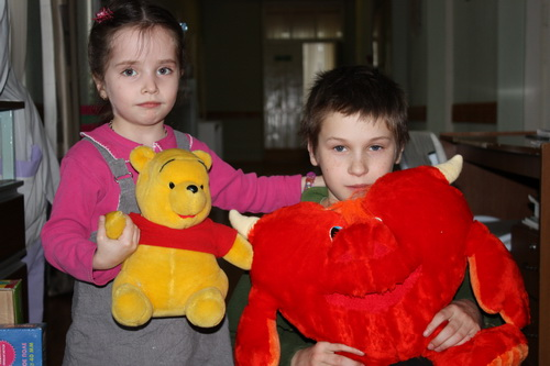 Помощь сироткам в феврале 2011 года