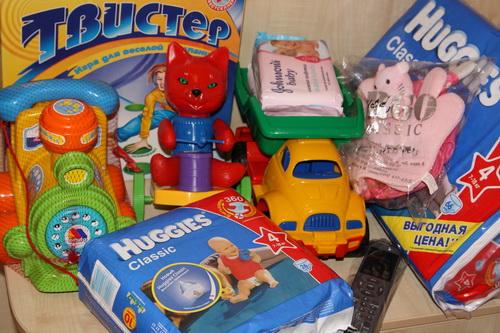 Оказанная сиротам помощь в январе 2011 года