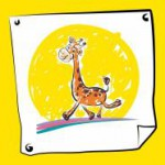 Весёлый жираф