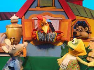 Теремок в театре кукол