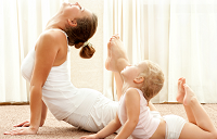 Фитнес для мам