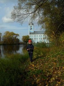 Аркадий в Петропавловском парке