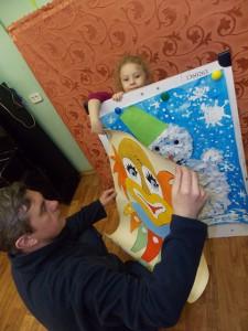 Иришка, 4 года, и ее волшебный календарь