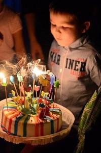 Детский день рождения в клубе Вместе