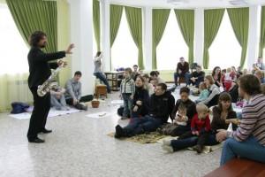 Концерт живой музыки для семей с детьми, джаз