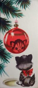 Новогодняя ёлочка с котёнком по имени Гав