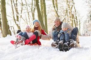 Зимний семейный лагерь