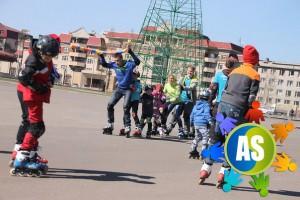 Летний роликовый лагерь для школьников