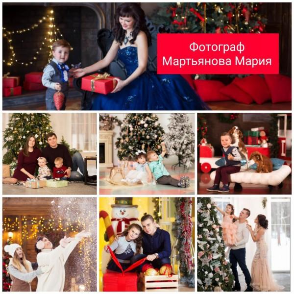 Мария Мартьянова, новогодние фотосессии