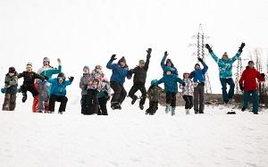 Детский зимний лагерь на лыжах