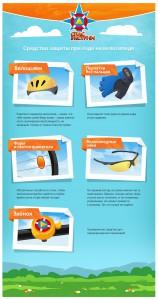 Средства защиты при езде на велосипеде