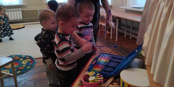 комплексные музыкальные занятия в раннем возрасте