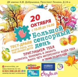 Большой сенсорный день в Ярославле