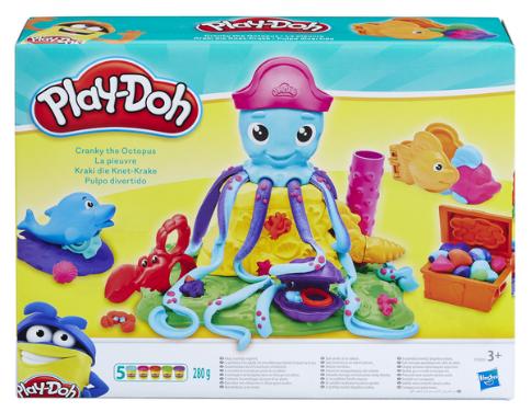 Игровой набор Play-Doh Весёлый Осьминог