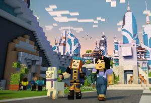 3D моделирование персонажа игры Minecraft