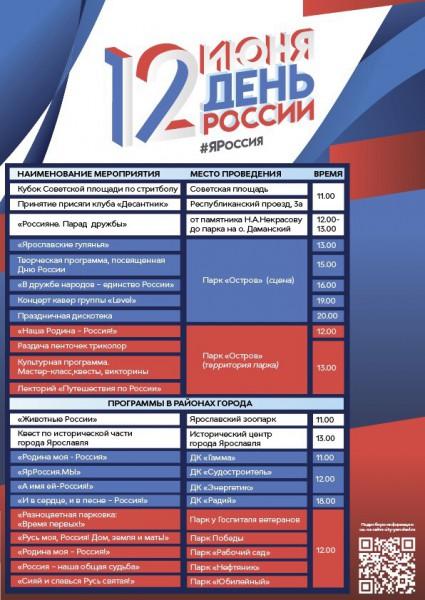 День России 2019 в Ярославле