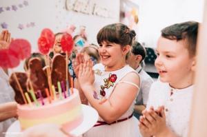 Жетский день рождения в творческой студии В горошек