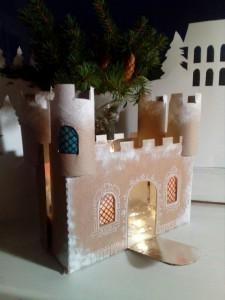 Новогодняя творческая мастерская - Замок