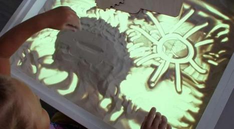 Набор для рисования песком