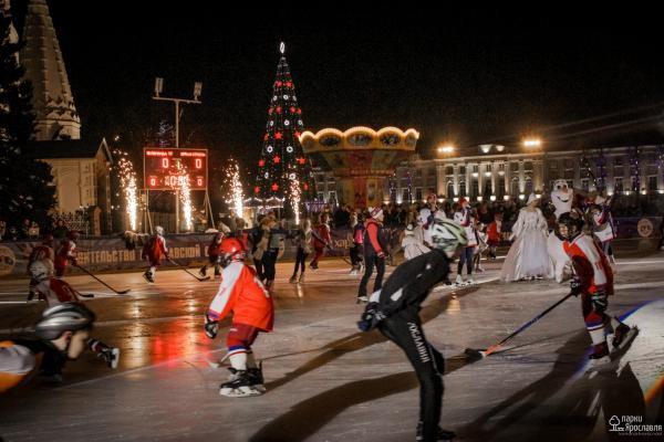 Бесплатный каток в центре Ярославля