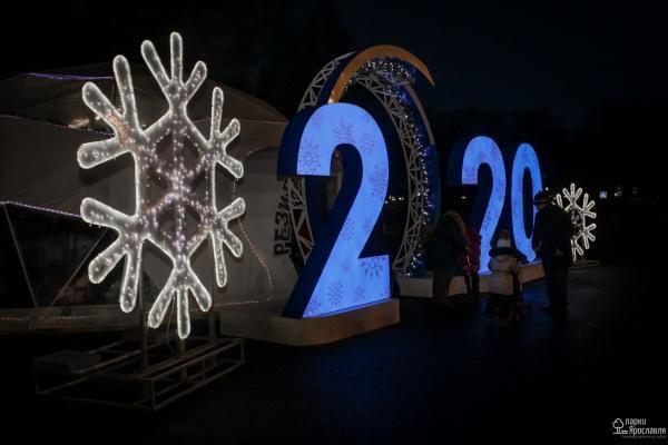 Новый год на Советской площади Ярославля