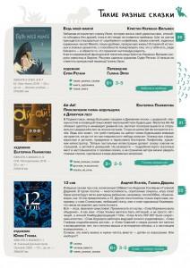 100 лучших новых книг для детей и подростков 2020. Сказки.